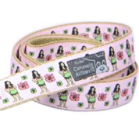 DOG LEAD - HULA GIRLS PINK